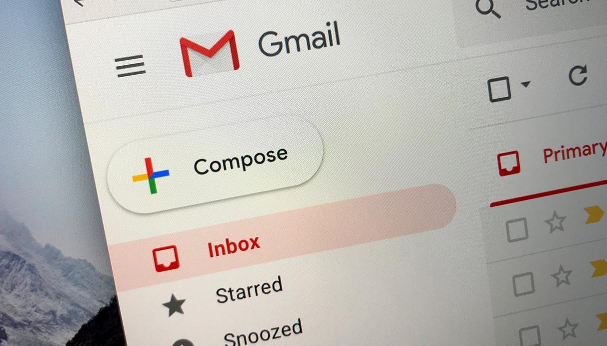 Gmail Down: il servizio non permette di inviare email con allegati thumbnail