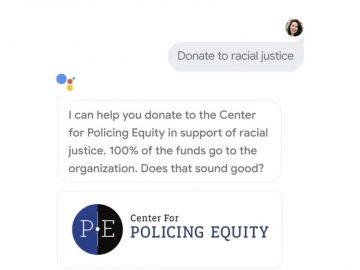 Google Assistant donazioni