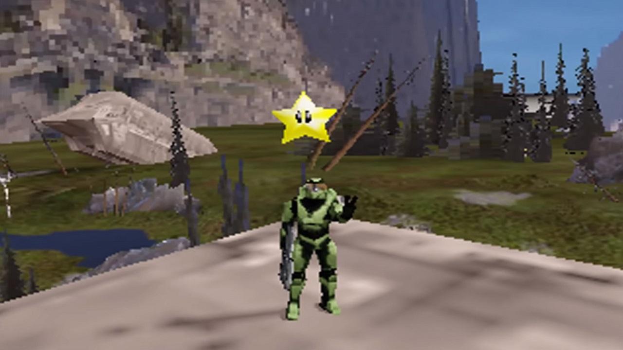 Che aspetto avrebbe Halo Infinite sul Nintendo 64? Ce lo svela un fan thumbnail