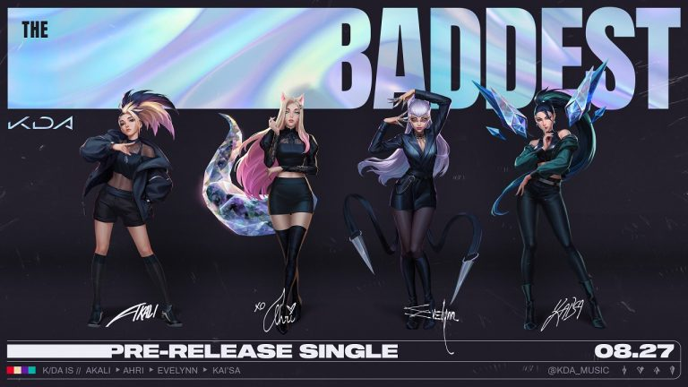 KDA-League-of-Legends-Tech-Princess