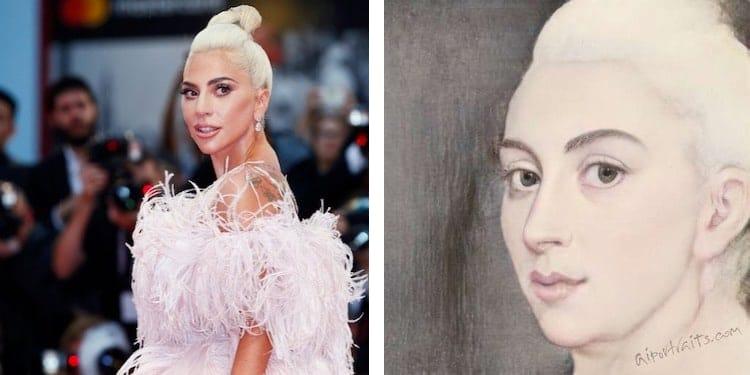 Lady-Gaga-dipinto-app-Tech-Princess