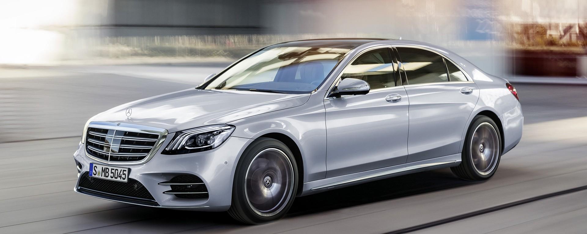 La nuova Mercedes Classe S sarà presentata il 2 settembre thumbnail