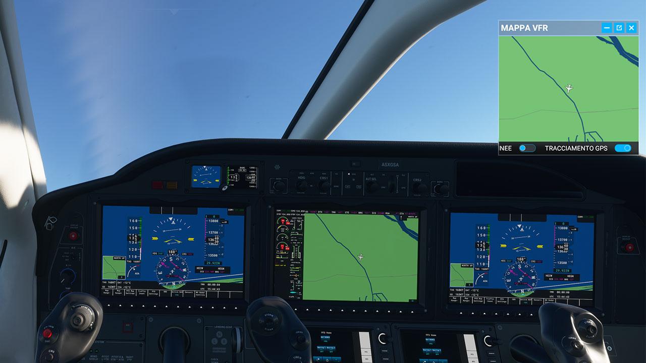 Microsoft Flight Simulator recensione cabina