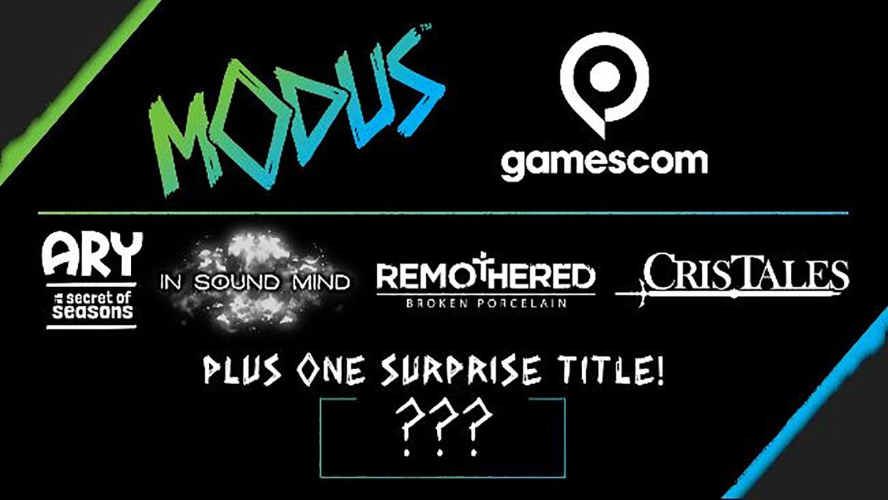 Ecco i titoli di Modus Games per Gamescom 2020 thumbnail