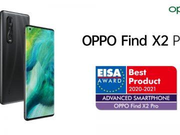 OPPO Find X2 Pro EISA Awards 2020