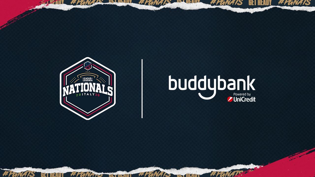 buddybank e PG Esports continuano la loro collaborazione vincente thumbnail