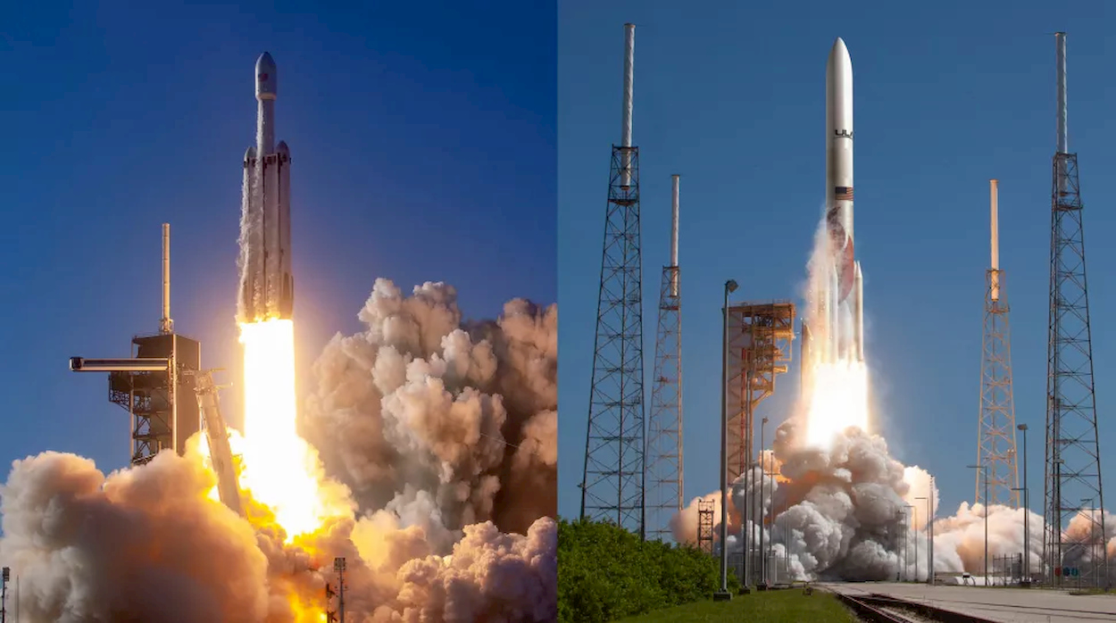 Il Pentagono affiderà le sue missioni a SpaceX e ULA thumbnail
