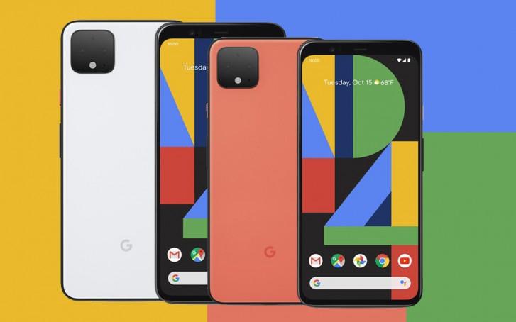 Pixel 4 e 4 XL