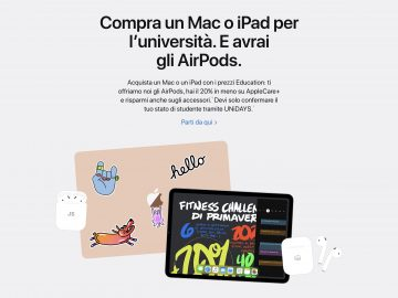 Prezzi Education Apple