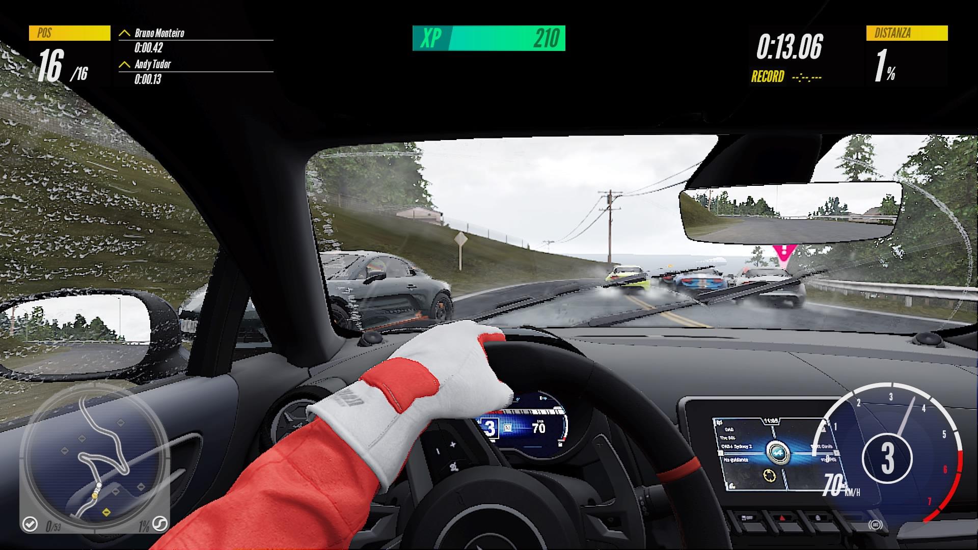 Project CARS 3 incidente Alpine