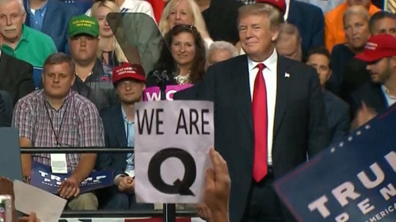 Qanon trump rally