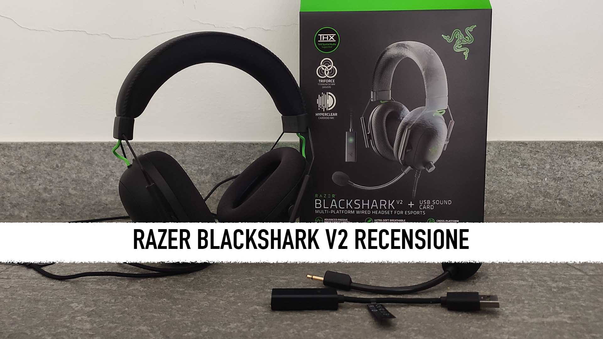 Razer Blackshark V2: recensione - Le cuffie per l'eSport thumbnail
