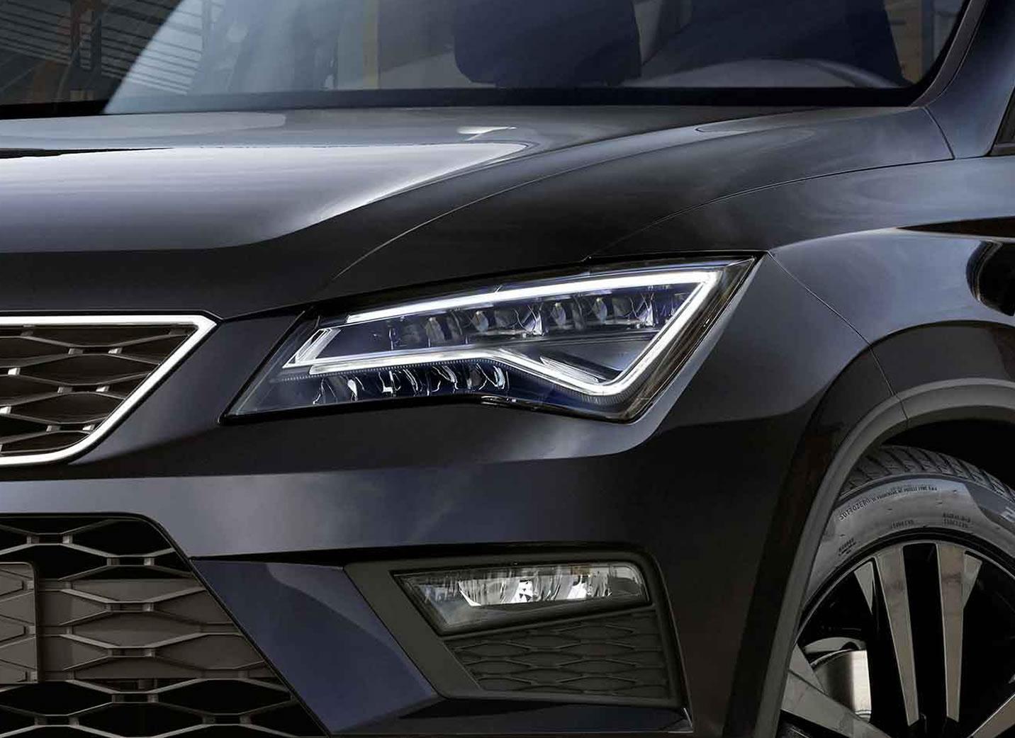 SEAT Ateca black edition esterno dettaglio