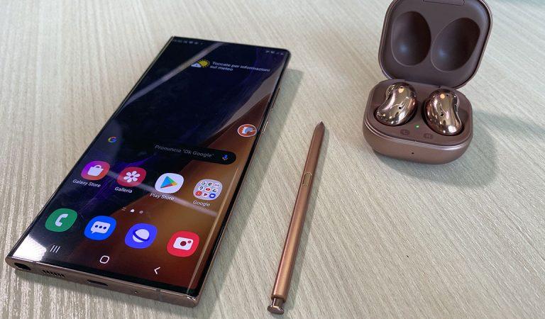 Samsung Galaxy Note 20 e Note 20 Ultra ufficiali: prezzo e caratteristiche
