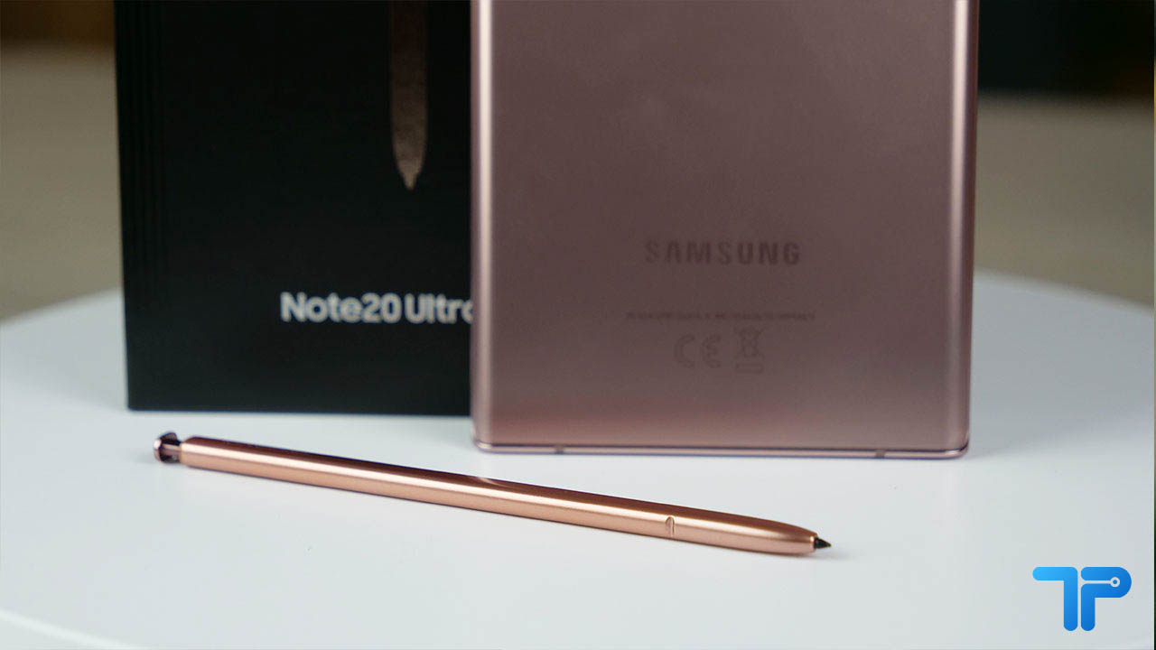 Samsung Galaxy Note 20 Ultra recensione S Pen