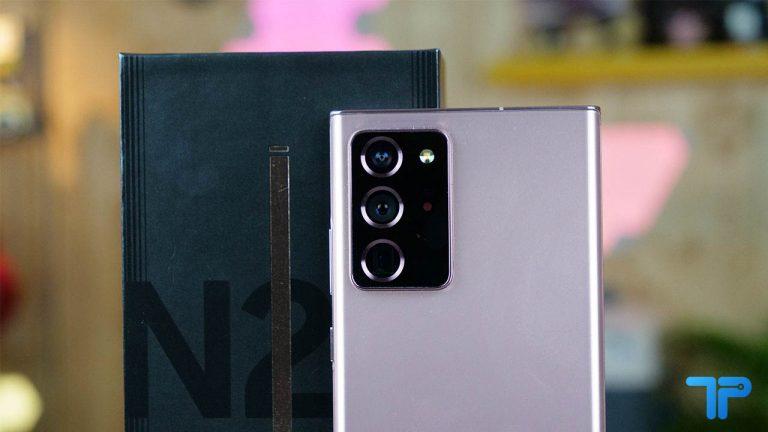 Samsung Galaxy Note 20 Ultra recensione design