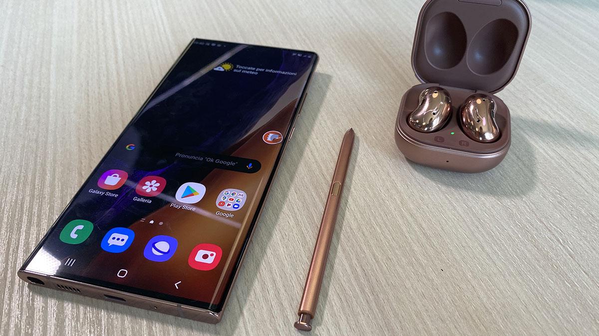 Samsung Galaxy Note 20 e Note 20 Ultra ufficiali: prezzo e caratteristiche thumbnail