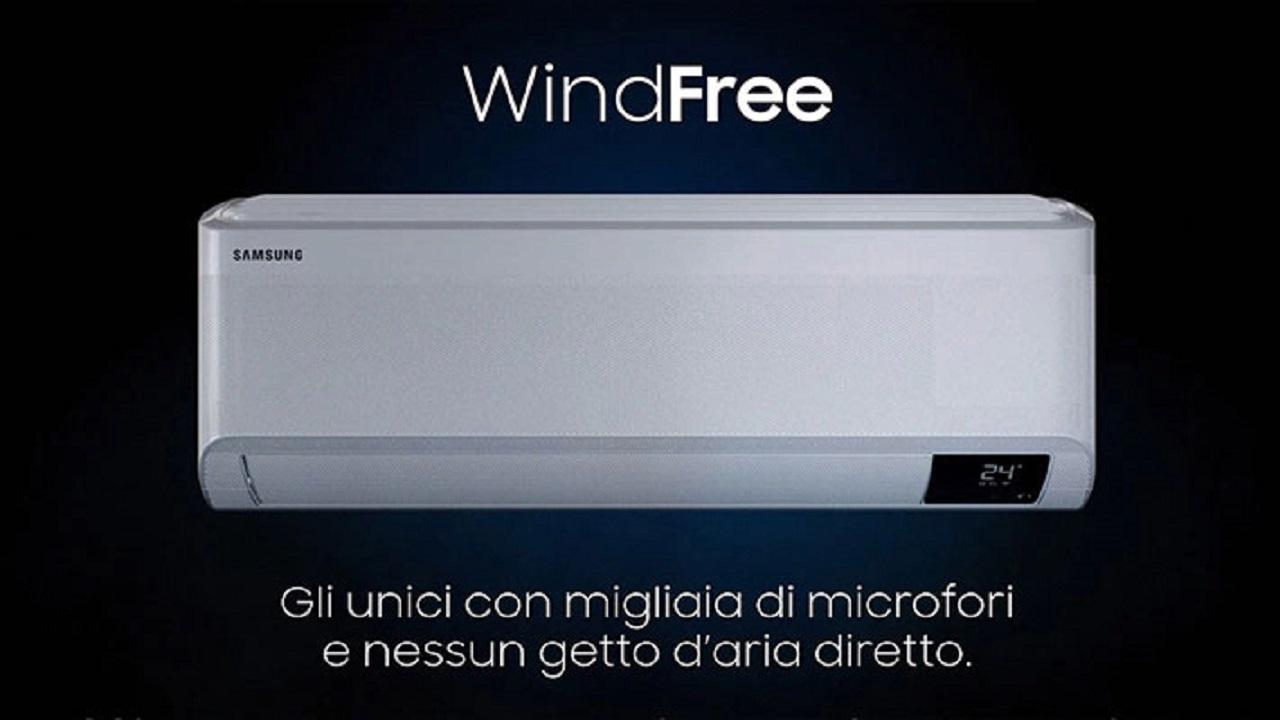 Samsung presenta il nuovo modello Wind-Free Deluxe thumbnail