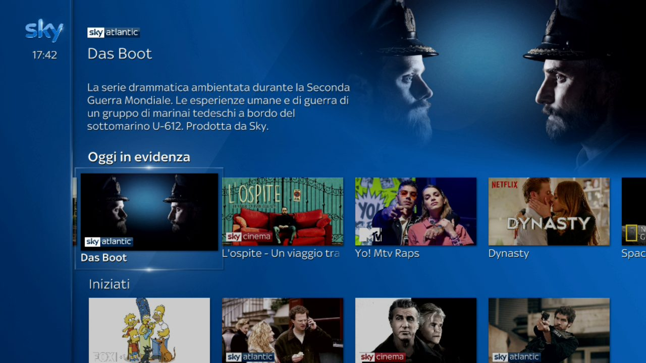 Sky Q si aggiorna con una nuova interfaccia widescreen thumbnail