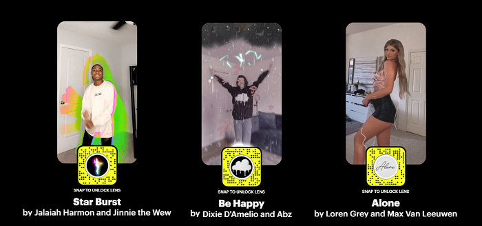 Snapchat filtri TikTok