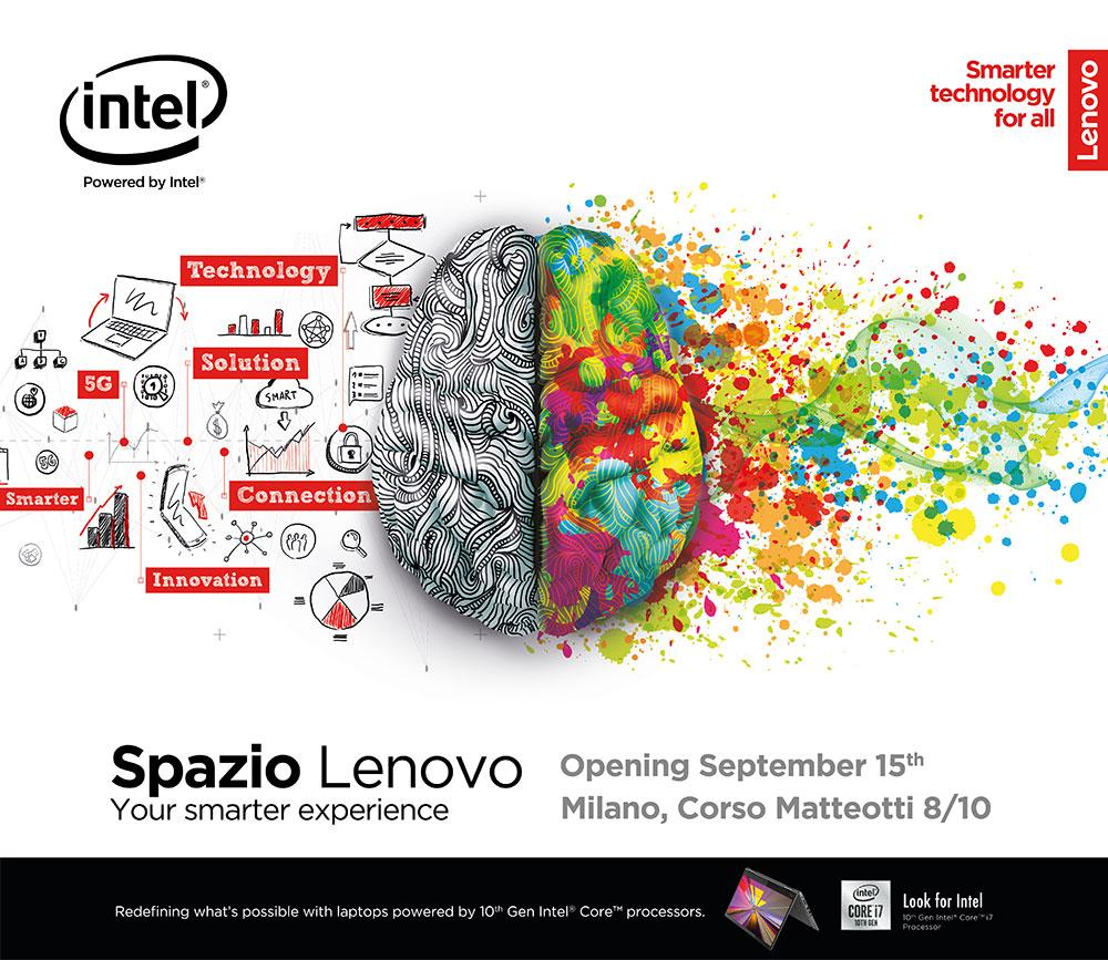 Spazio Lenovo out of home