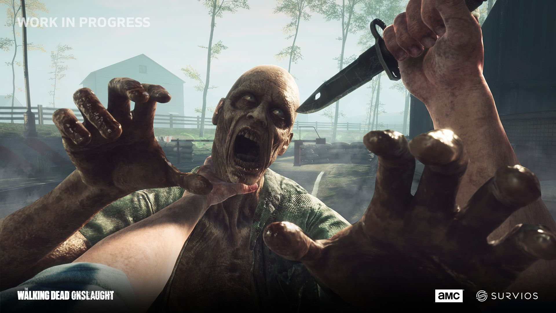 The Walking Dead Onslaught ha una data d'uscita thumbnail
