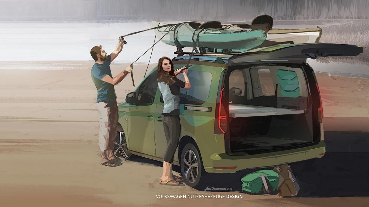 Volkswagen Caddy: la versione Mini Camper debutta a settembre thumbnail