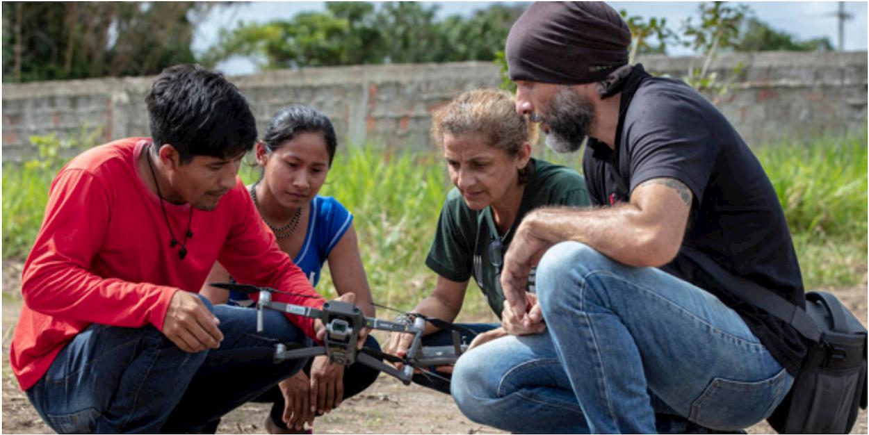 I droni del WWF per salvaguardare l'Amazzonia thumbnail