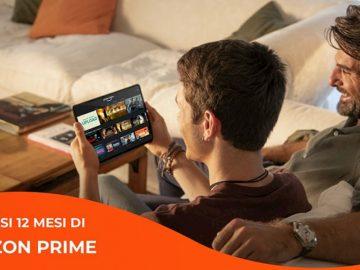 WINDTRE Amazon Prime copertina