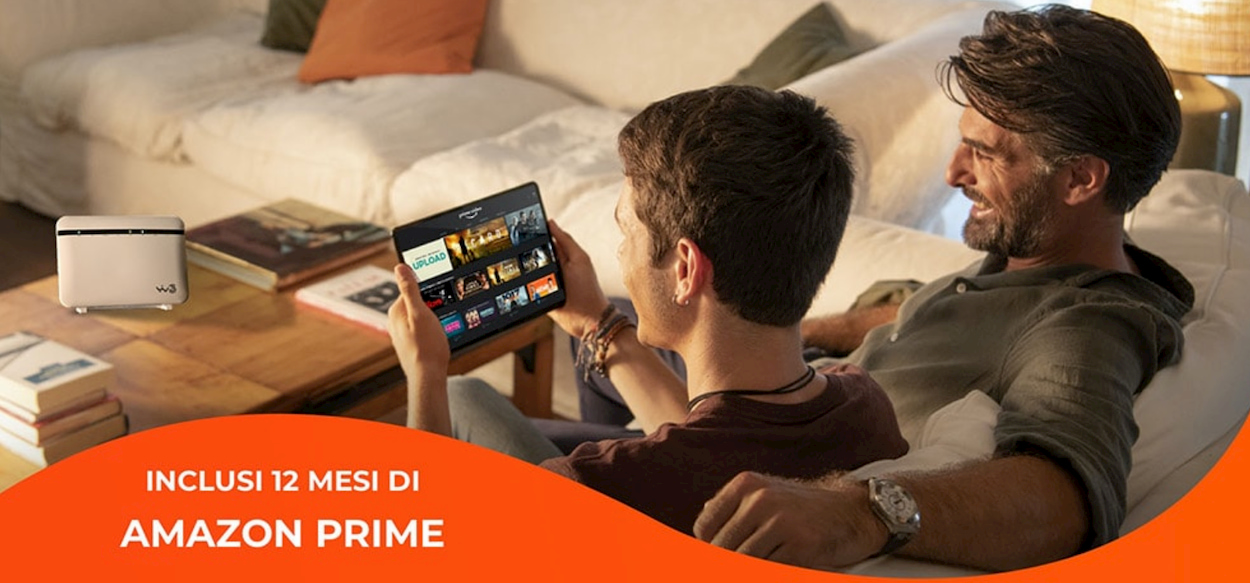 WINDTRE regala Amazon Prime con la linea fissa thumbnail