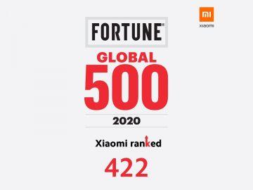 Xiaomi Fortune Global 500 2020