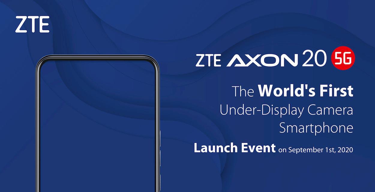 ZTE Axon 20 5G sarà il primo telefono con la fotocamera sotto lo schermo thumbnail