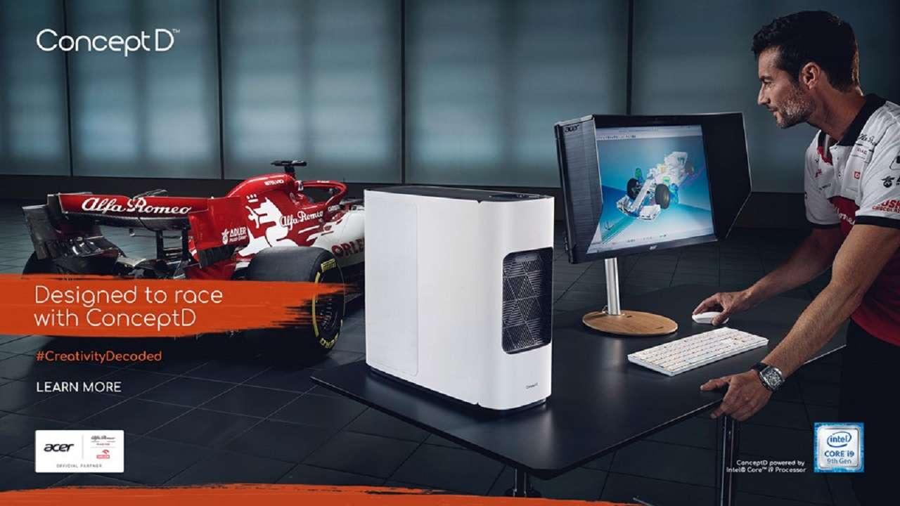 Ecco le nuove collaborazioni tra Acer e Alfa Romeo Racing Orlen thumbnail