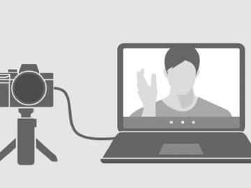 app videochiamate Sony Imaging Edge Webcam
