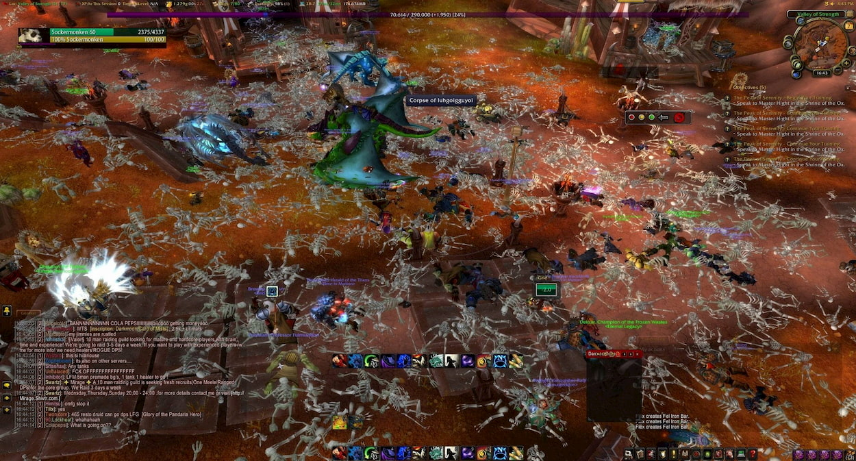 Un'epidemia in World of Warcraft per studiare quelle reali thumbnail