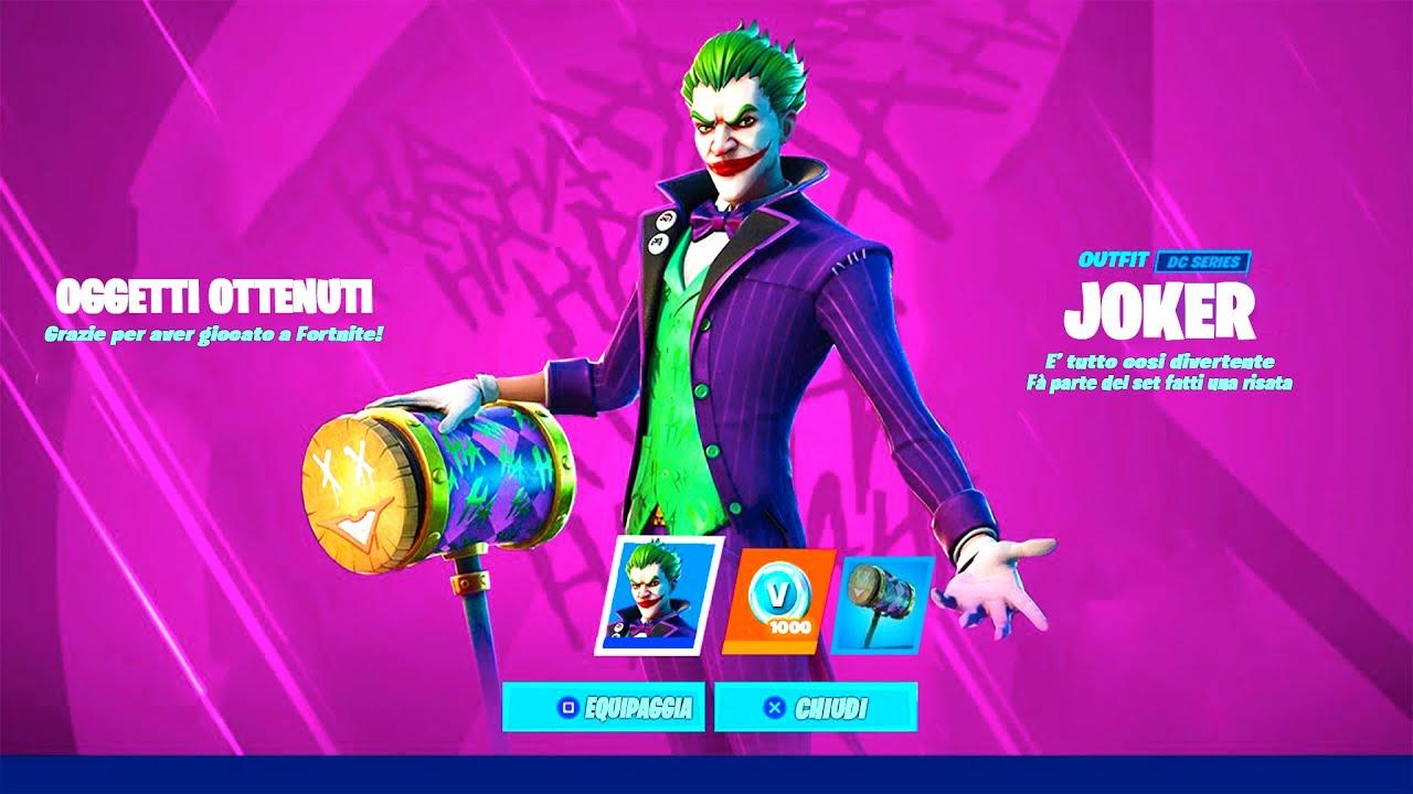 Joker e Poison Ivy arriveranno successivamente su Fortnite thumbnail