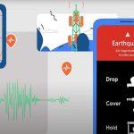 smartphone android mini sismografi
