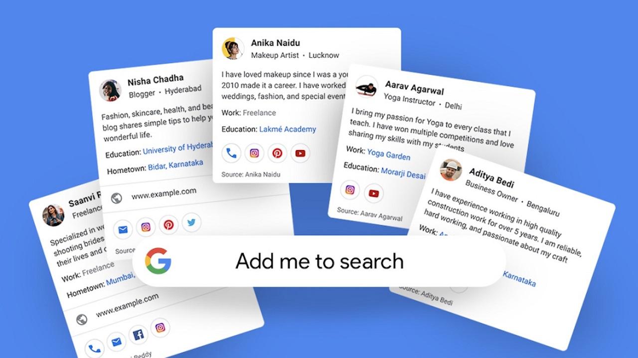 Google presenta i biglietti da visita virtuali per il suo motore di ricerca thumbnail