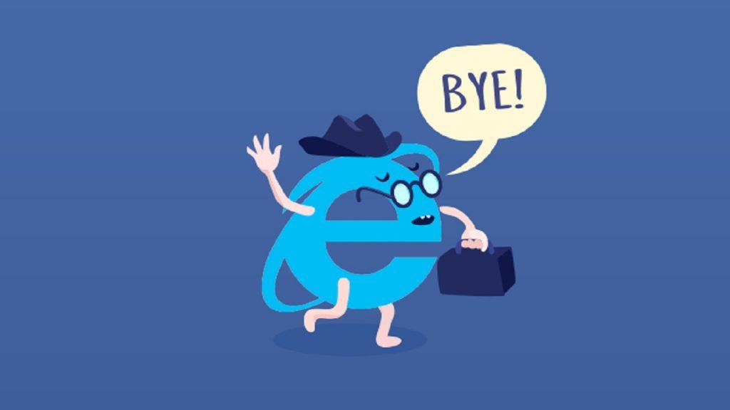 internet explorer addio