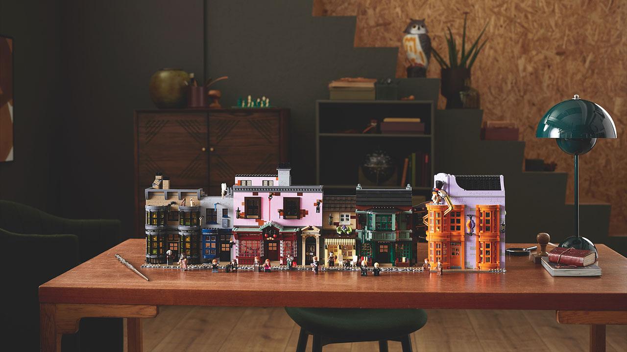Catapultati a Diagon Alley col nuovo set LEGO thumbnail