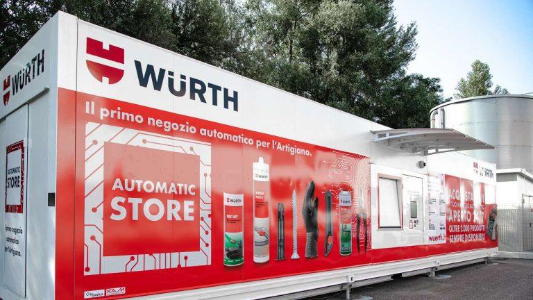 negozio automatico nuovo
