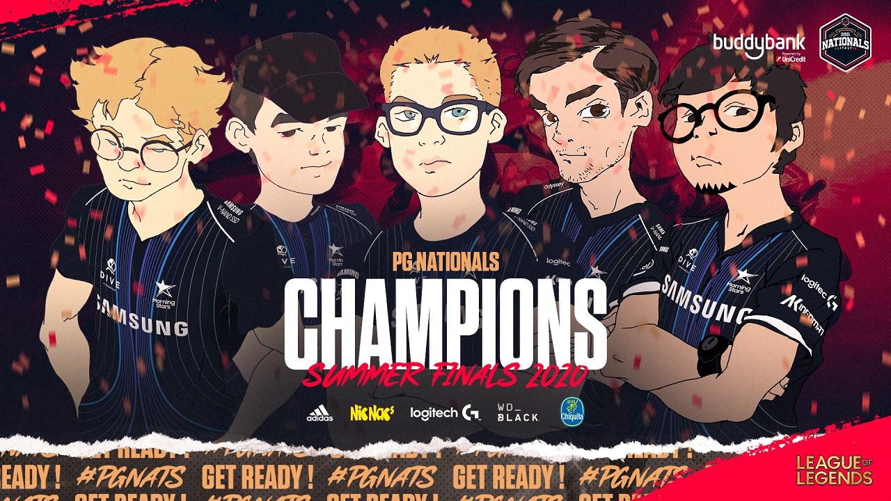 I Samsung Morning Stars incoronati al PG Nationals Summer Split 2020 thumbnail