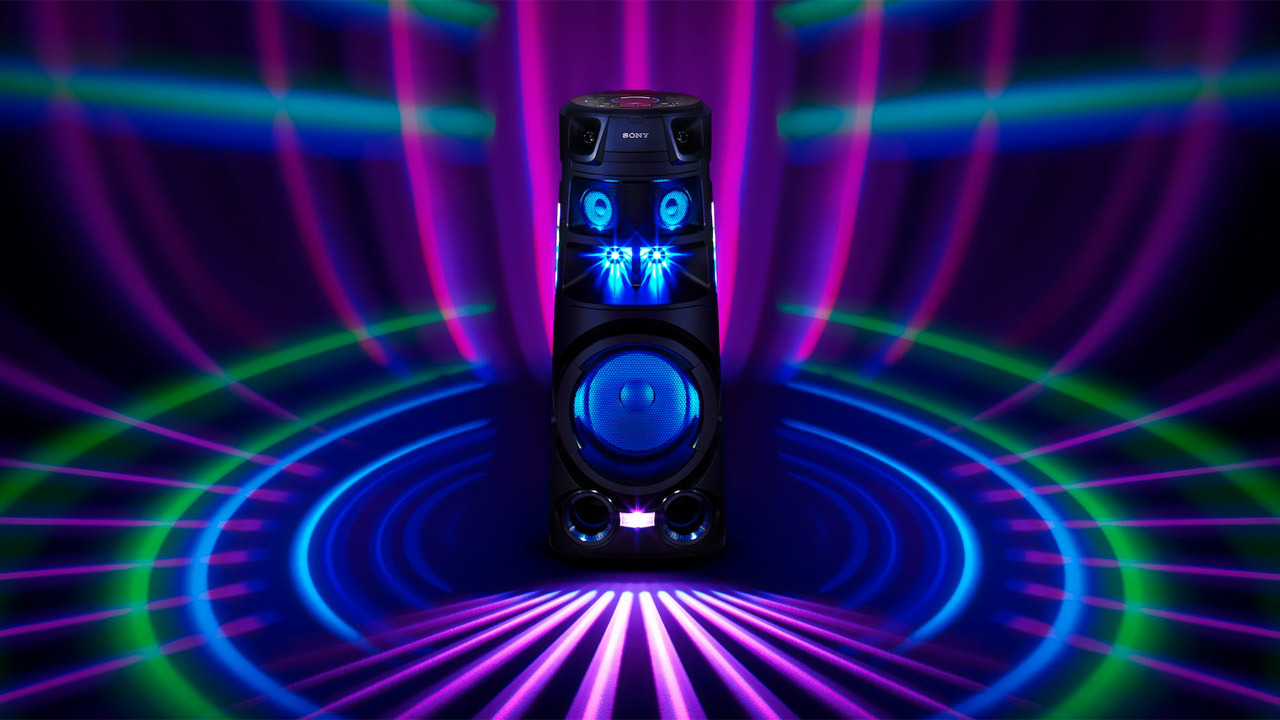 sistemi audio sony illuminazione led