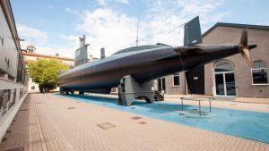 Tanti auguri al Sottomarino Enrico Toti Venerdì 14 agosto il sottomarino Enrico Toti compie 15 anni dall'arrivo al Museo Nazionale Scienza e Tecnologia, dove fu accolto da oltre 150.000 persone