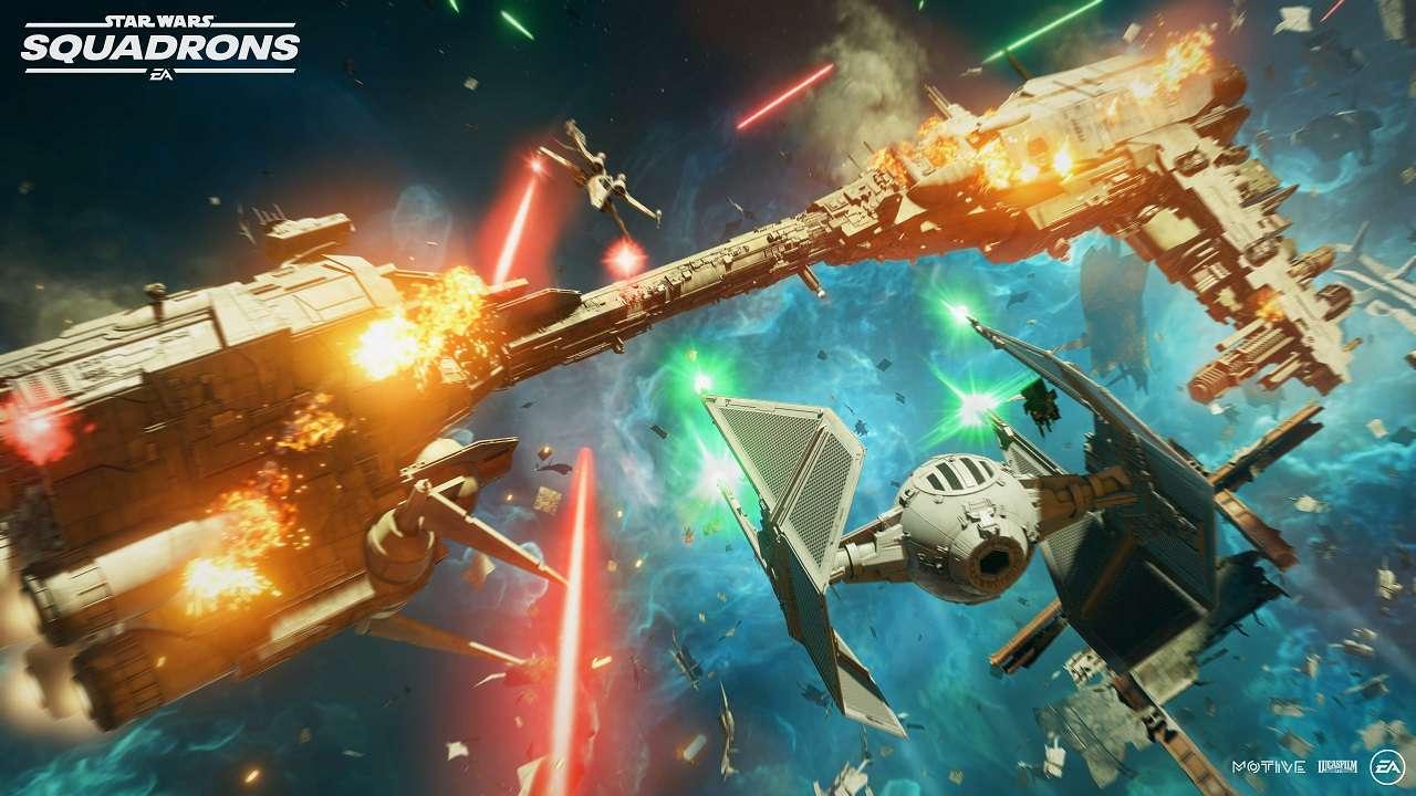 Pubblicato il nuovo trailer di Star Wars Squadrons thumbnail