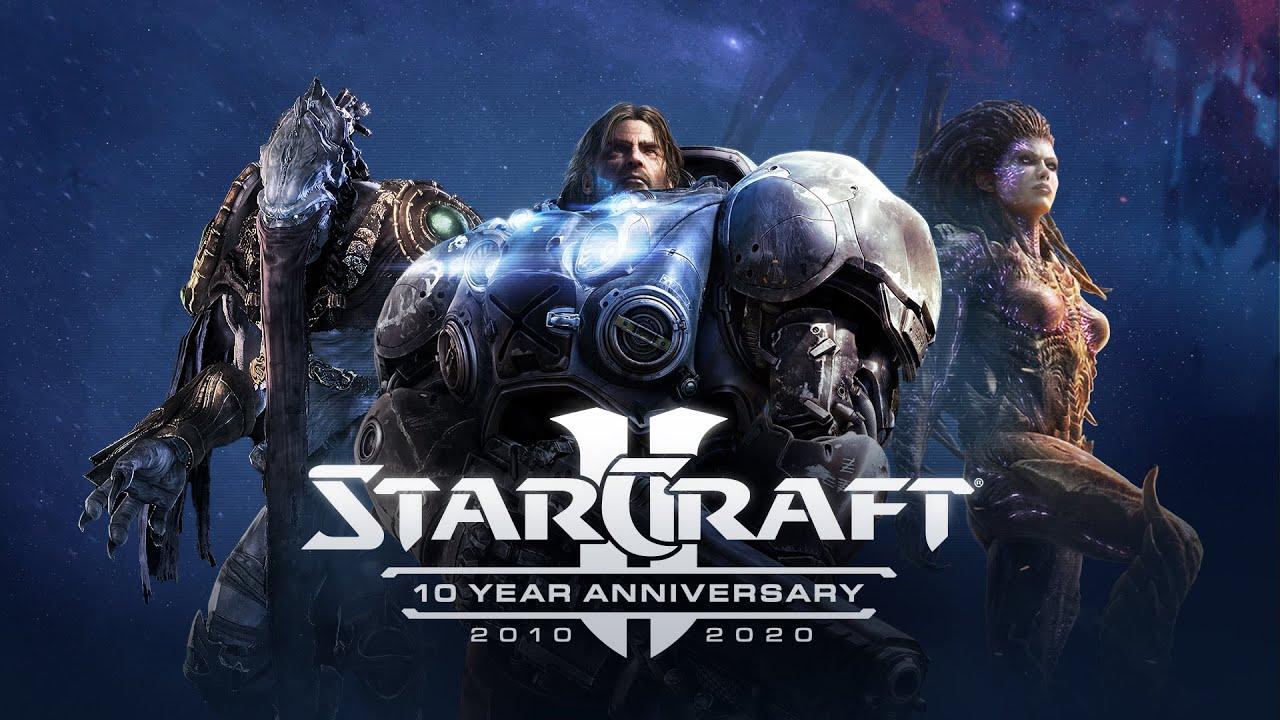 Dieci anni di StarCraft II festeggiati con un nuovo aggiornamento thumbnail
