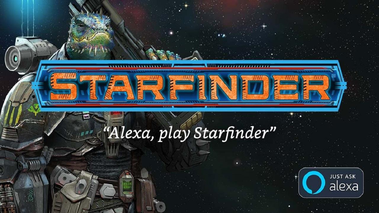 Ecco il nuovo gioco di ruolo che funziona con Alexa, si chiama Starfinder thumbnail