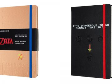 the legend of zelda taccuini moleskine