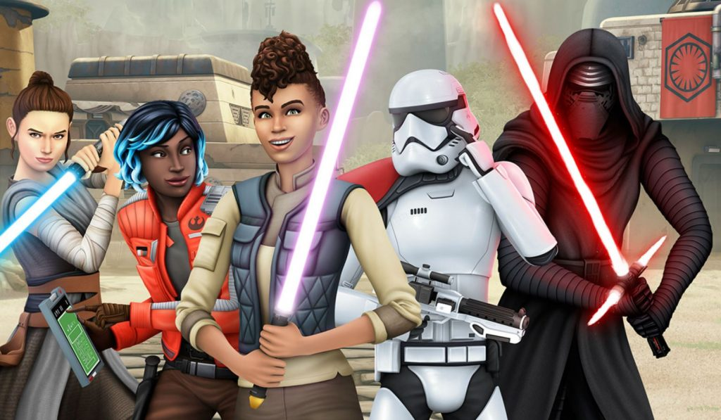 Star Wars incontra The Sims 4 nel nuovo Game Pack thumbnail