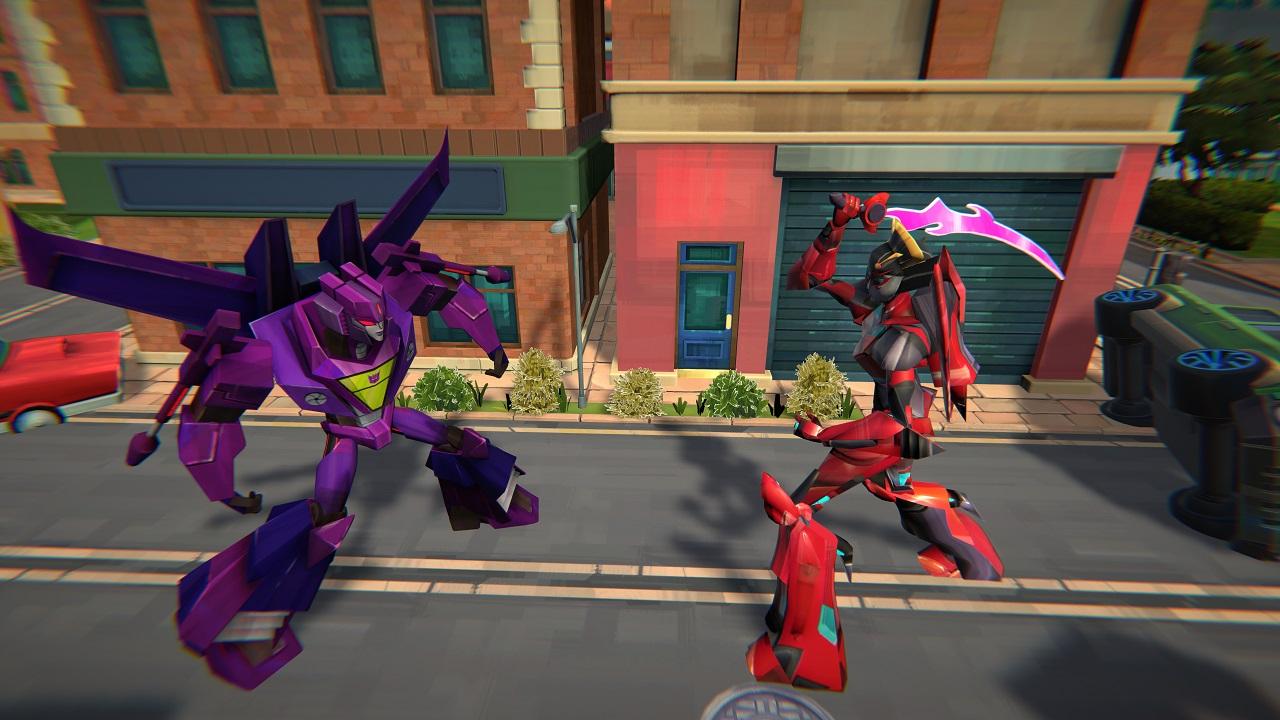 Le battaglie del nuovo videogioco sui Transformers thumbnail